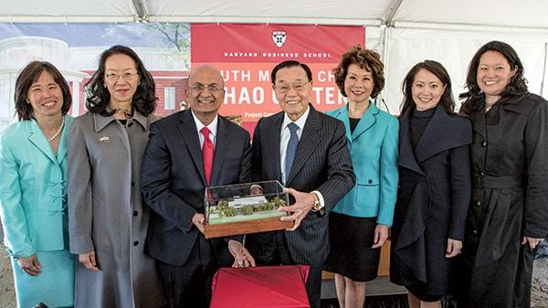 Chao family in Harvard University