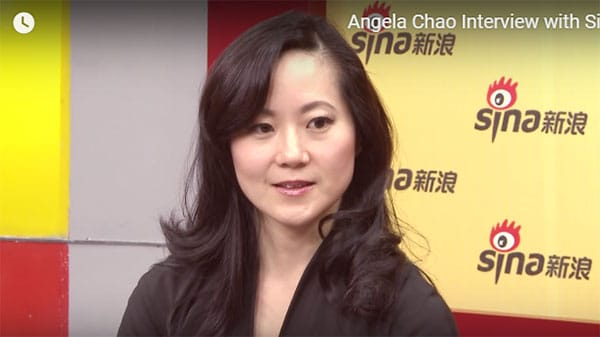 Angela Chao Speak With Sina.com