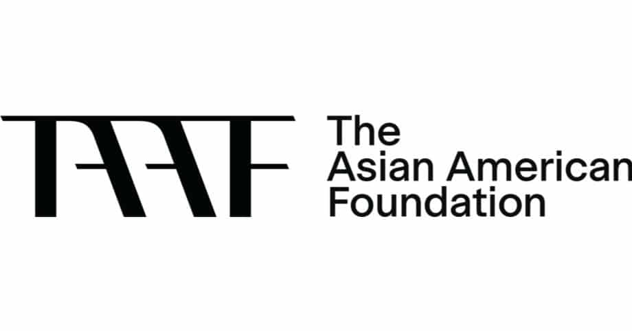 TAAF The Asian American Foundation Logo